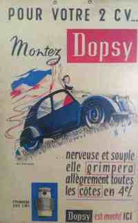 Pices moteur 2cv