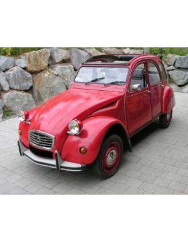 2cv6 Club 1990 Export rouge