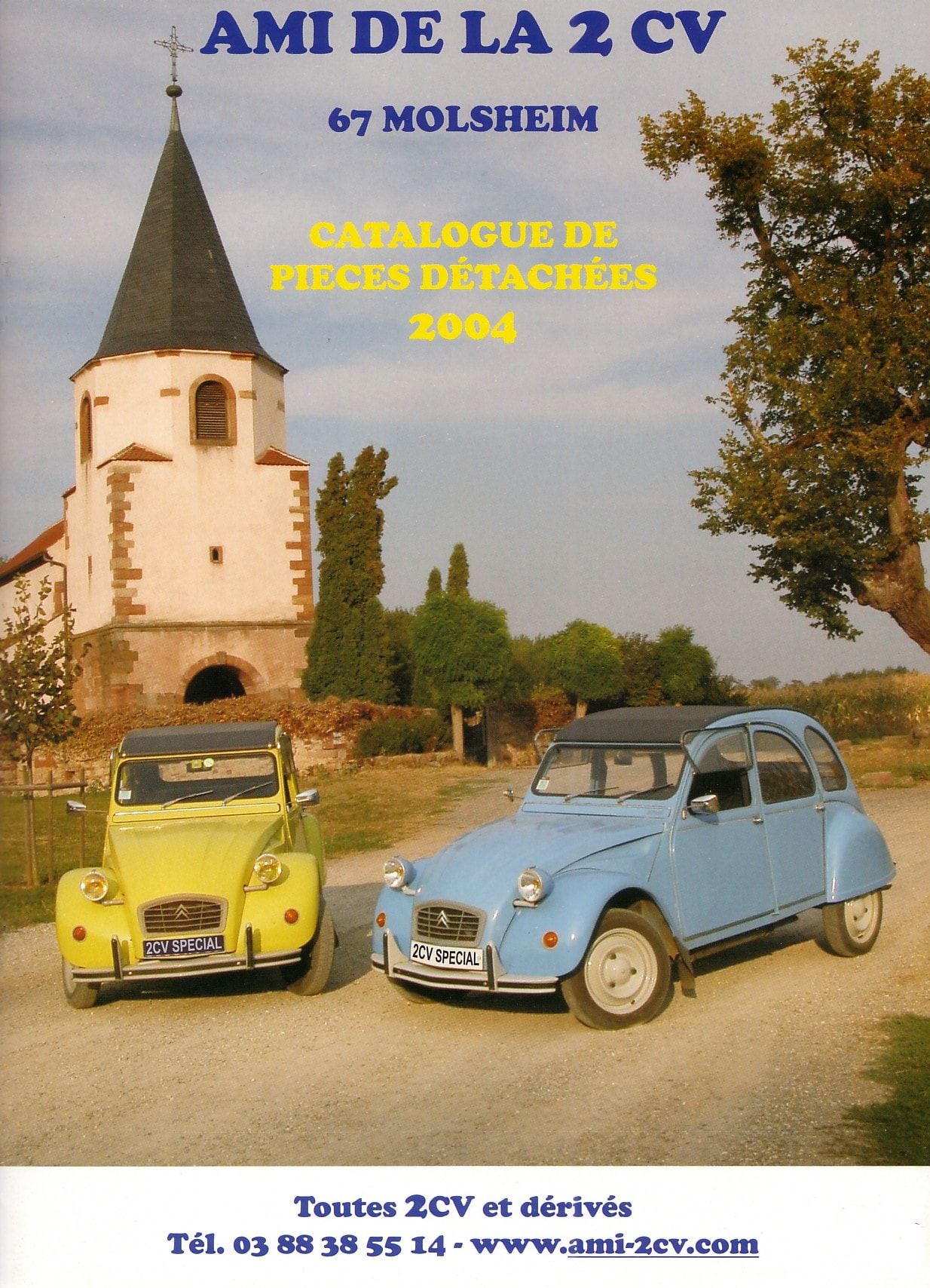 catalogue 2cv